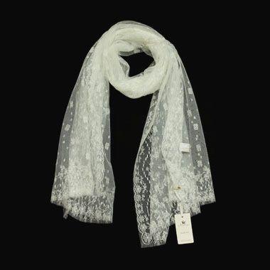 Кружевной шарф Платки Франция